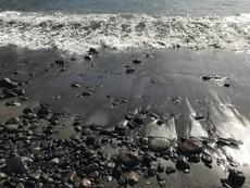 Black sand beach, Agaete, Gran Canaria - 2017.