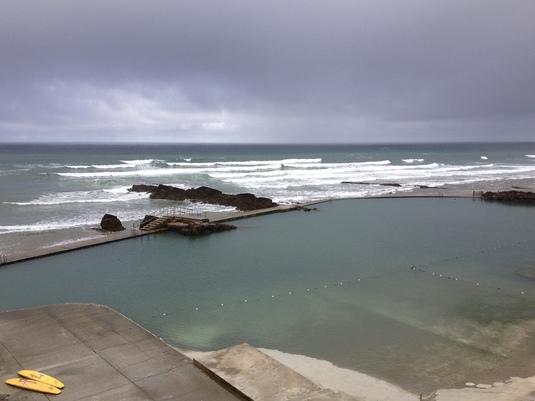 Bude Sea Pool, Bude Cornwall - 2013.